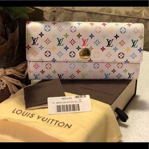 Louis Vuitton Multicolor Sarah Bifold Wallet